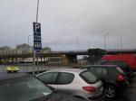 Парковка  машин в Хельсинки
